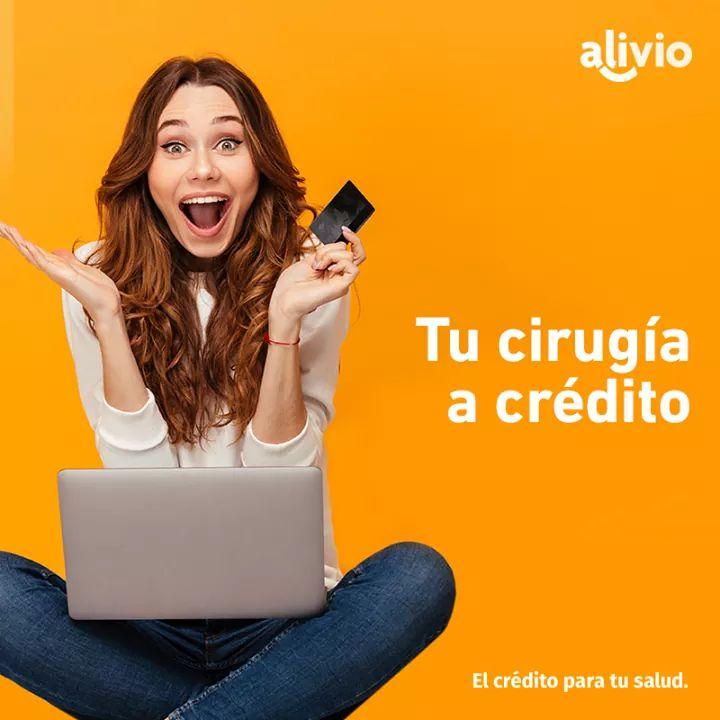 Aceptamos créditos de Alivio Capital