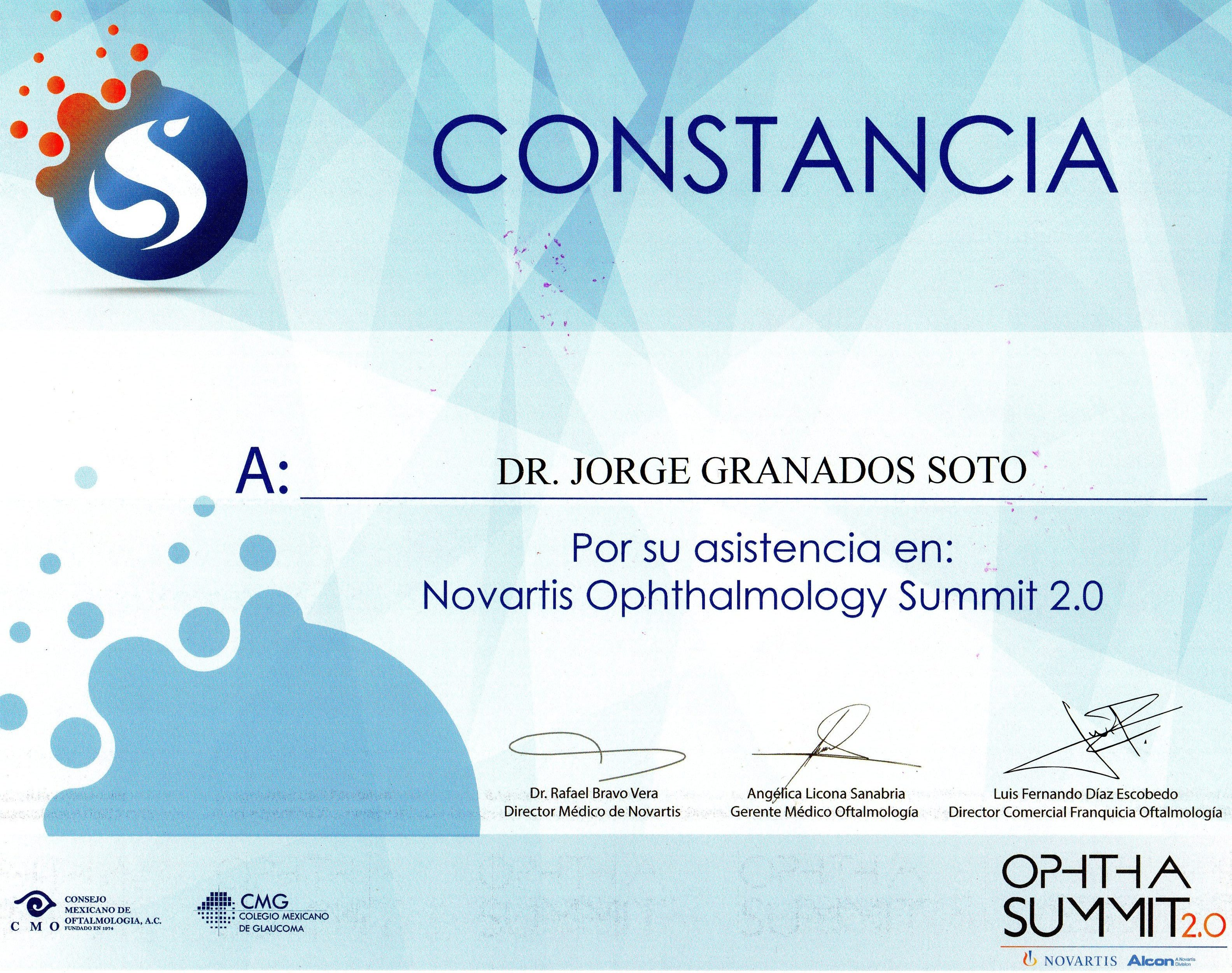 NOVARTIS OPHTHALMOLOGY SUMMIT 2.0