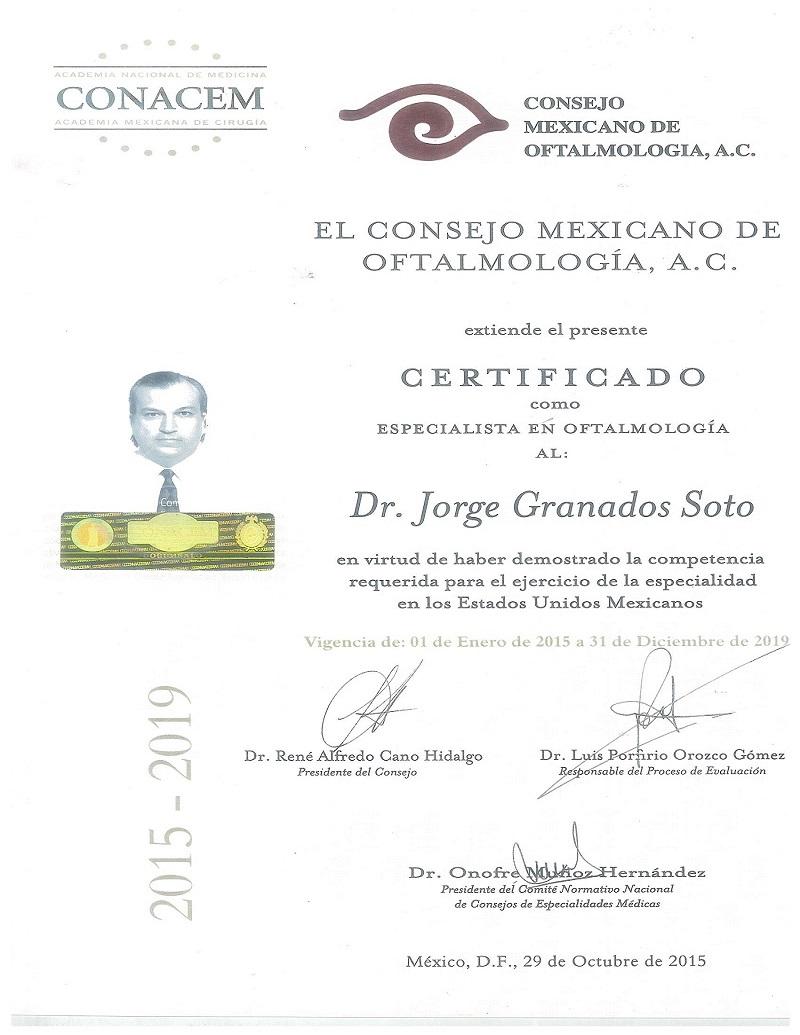 Consejo Mexicano de Oftalmología